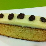 Bizcocho de chocolate blanco en Thermomix