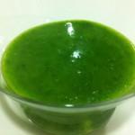 Salsa verde (la de los chipirones) en Thermomix
